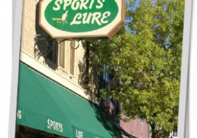 The Sports Lure Sign